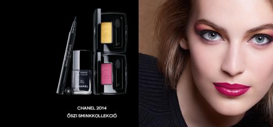 Chanel őszi sminkkollekció 2014